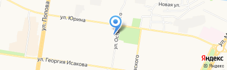 Минутка на карте Барнаула