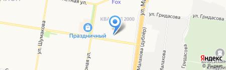 Дарвин на карте Барнаула