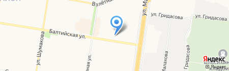 Шторы от Ларисы на карте Барнаула