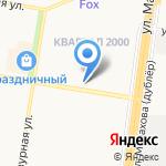 Куры на огне на карте Барнаула