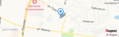 АлВи-К на карте Барнаула