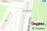 Схема проезда до компании МобиКом в Барнауле