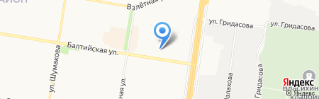 Стюарт Литтл на карте Барнаула