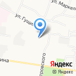 Бастион на карте Барнаула