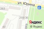 Схема проезда до компании GSM в Барнауле