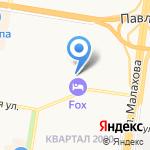 АртВет на карте Барнаула