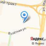 ПАВИЛЬОН 22 на карте Барнаула