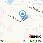 Инмарко на карте Барнаула
