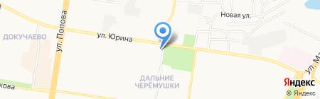 Фимка на карте Барнаула
