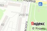 Схема проезда до компании Фимка в Барнауле