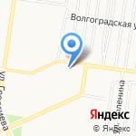 Социальный продуктовый магазин на карте Барнаула