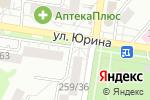 Схема проезда до компании Dент-Сервис в Барнауле