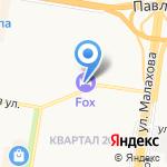 Мотив на карте Барнаула
