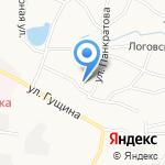 Славянские бани на карте Барнаула