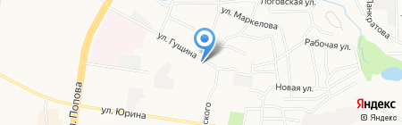 Банкомат Банк Финсервис на карте Барнаула