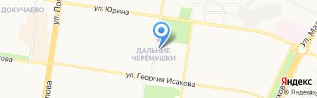 Агента на карте Барнаула