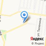 Блик на карте Барнаула