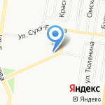 Алтай GSM сервис на карте Барнаула