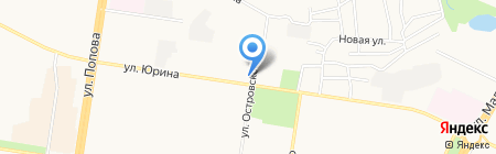 Колбасный на карте Барнаула
