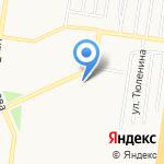 Стадион на карте Барнаула