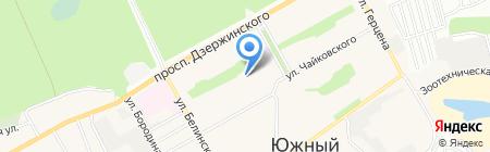 Детский сад №125 на карте Барнаула