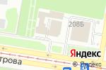 Схема проезда до компании Интерьер-Мебель в Барнауле