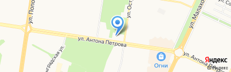 Интерьер-Мебель на карте Барнаула