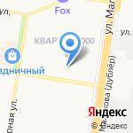 Добрый доктор на карте Барнаула