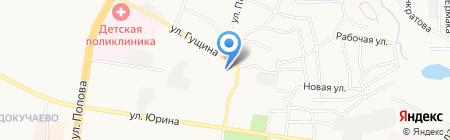 МИР ВОРОТ на карте Барнаула