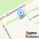 Центр развития ребенка-детский сад №125 на карте Барнаула