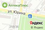 Схема проезда до компании Тамбовская житница в Барнауле