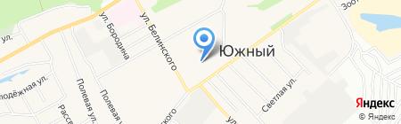 Детский сад №167 на карте Барнаула