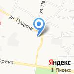 ЖЭУ №28 на карте Барнаула
