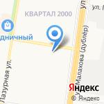Зайки Знайки на карте Барнаула