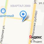 Нотариус Величко Ф.Г. на карте Барнаула