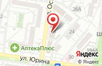 Схема проезда до компании Подсолнухи Алтая в Барнауле