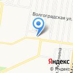 Лира на карте Барнаула