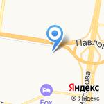 Мерседес-центр на карте Барнаула