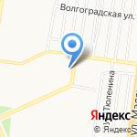 Гермед на карте Барнаула