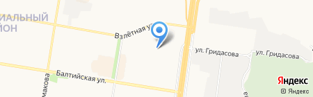 Детский сад №259 на карте Барнаула