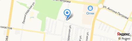 Mama style на карте Барнаула