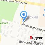 Точка Роста на карте Барнаула
