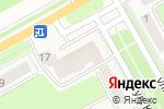 Схема проезда до компании Fresh в Барнауле