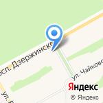 Нотариус Сундукова Т.Н. на карте Барнаула