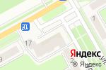 Схема проезда до компании Белый дым в Барнауле