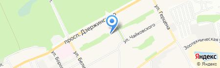 Посуда-маркет на карте Барнаула
