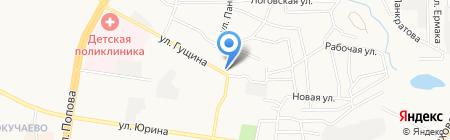 Радужный на карте Барнаула