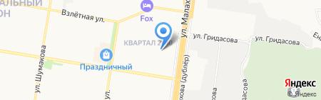 Салон красоты на карте Барнаула