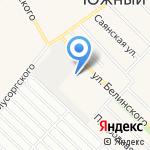 АГАС-LIFAN на карте Барнаула