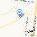 Ломбард-Злата на карте Барнаула